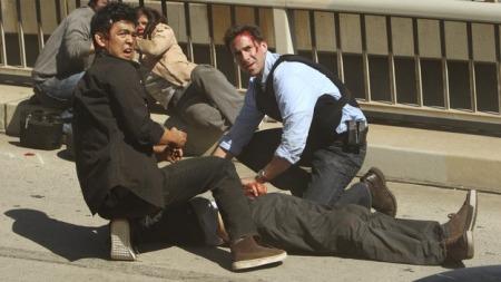 Mark e Dimitri logo depois do caos